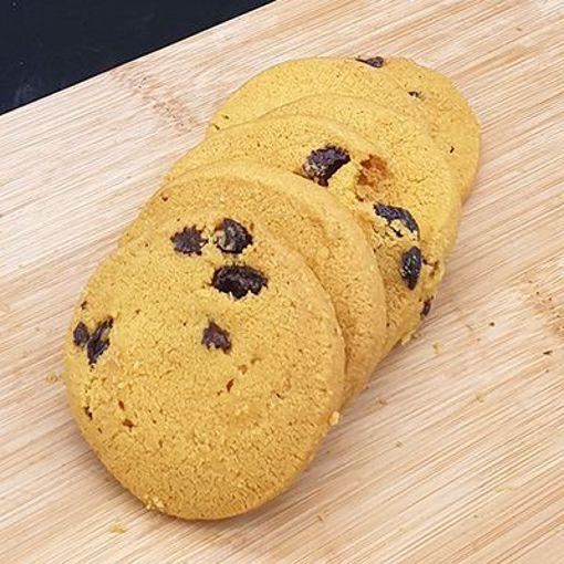 Afbeelding van Roomboter koekjes Rozijnenkoekjes +/-250gr