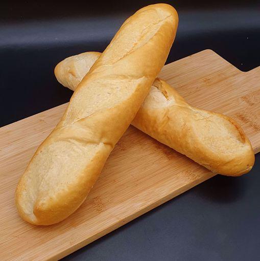 Afbeelding van Weekend afbaktopper: 2 stokbrood wit