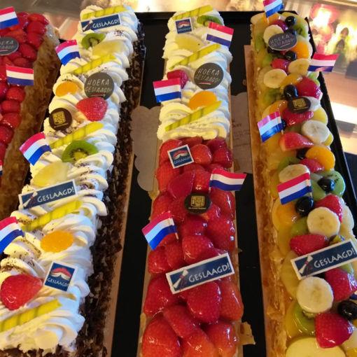 Afbeelding van Halve meter marsepein taart
