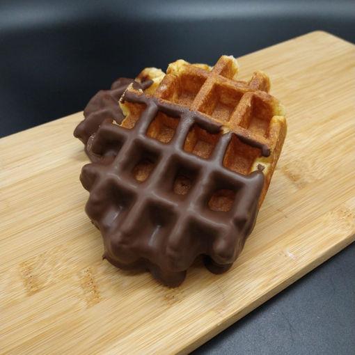 Afbeelding van Suikerwafel met chocolade