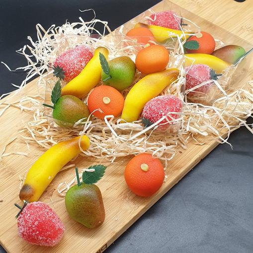 Afbeelding van Doosje Marsepein fruit 200 gram